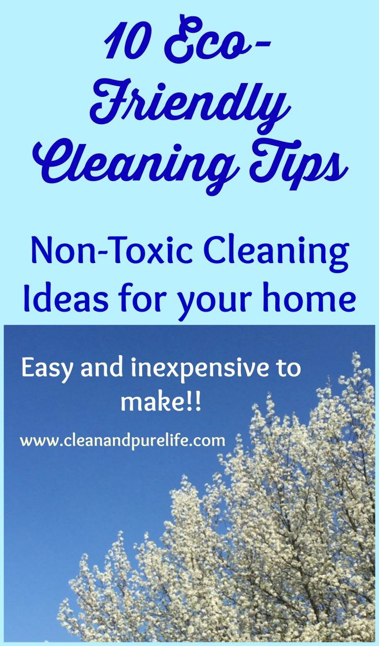 10 Eco-Friendly Home Cleaning Ideas
