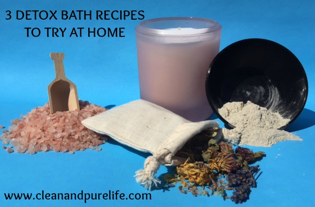 3 detox bath recipes to try at home